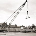 25t Coles crane in action