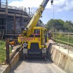Tight fit for 10t city crane