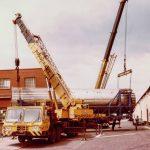 coles and Grove cranes dual lifting