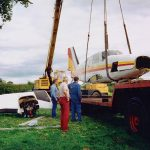 Light aircraft recovery