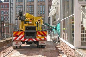 Roadcraft Crane Hire - Franna MCR Steel Trusses